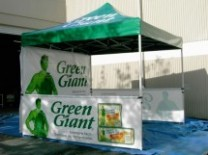 Ez Up Pop Up Advertising Tents | Texas Ad Balloons