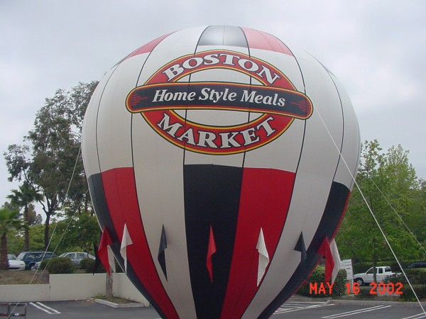 Restaurant Balloon for more Visibility & Traffic!