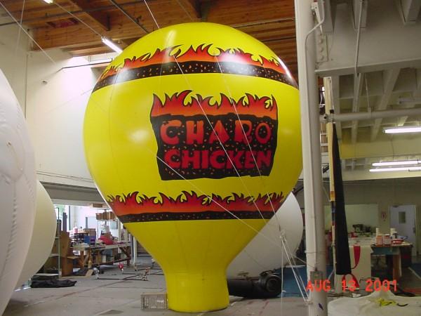 Big Color Balloon Impact