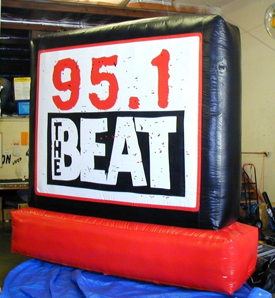 Radio Station Inflatable Sign